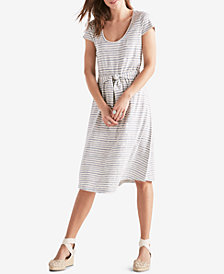 Lucky Brand Cotton Fit & Flare Dress