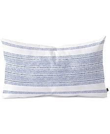 Deny Designs Holli Zollinger Capri Stripes Oblong Throw Pillow
