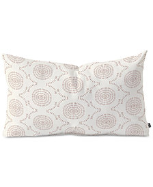 Deny Designs Holli Zollinger Wildflower Geo Oblong Throw Pillow