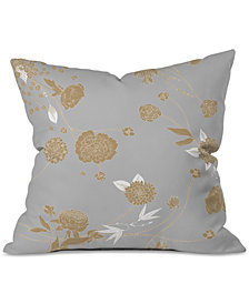 Deny Designs Iveta Abolina Foggy Morning Throw Pillow
