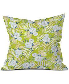 Deny Designs Iveta Abolina Sweet Stella Green Throw Pillow