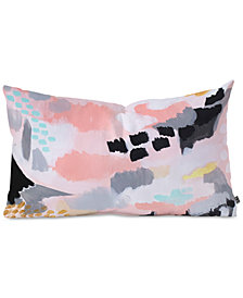 Deny Designs Laura Fedorowicz Serenity Abstract Oblong Throw Pillow