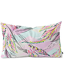 Deny Designs State Feather Desert Oblong Throw Pillow