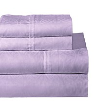 Printed 4-Pc.. Full Sheet Set, 300 Thread Count Cotton Sateen
