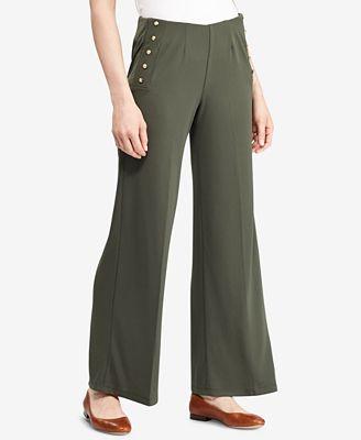 Lauren Ralph Lauren Petite High-Rise Pants $99.5 (Macy's)