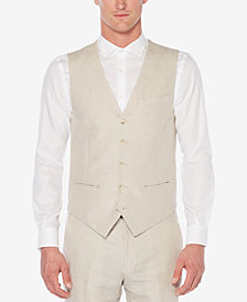 Perry Ellis Men's Linen Vest