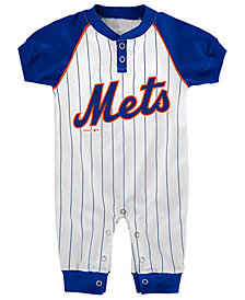 Outerstuff New York Mets Gametime Coverall, Infants (0-9 Months)