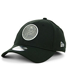 New Era Pittsburgh Pirates Circle Reflect 39THIRTY Stretch Fitted Cap