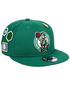 New Era Boston Celtics On-Court Collection 9FIFTY Snapback Cap