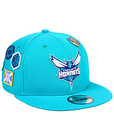 New Era Charlotte Hornets On-Court Collection 9FIFTY Snapback Cap