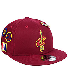 New Era Cleveland Cavaliers On-Court Collection 9FIFTY Snapback Cap