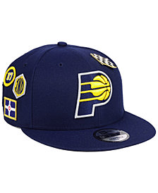 New Era Indiana Pacers On-Court Collection 9FIFTY Snapback Cap