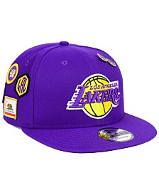 New Era Los Angeles Lakers On-Court Collection 9FIFTY Snapback Cap