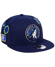 New Era Minnesota Timberwolves On-Court Collection 9FIFTY Snapback Cap