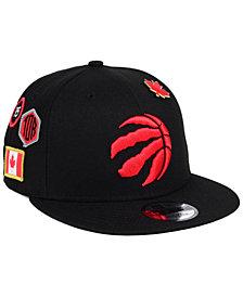 New Era Toronto Raptors On-Court Collection 9FIFTY Snapback Cap