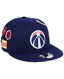 New Era Washington Wizards On-Court Collection 9FIFTY Snapback Cap