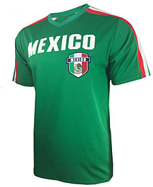 Mexico National Team Mesh Warm-up T-Shirt, Big Boys (8-20)