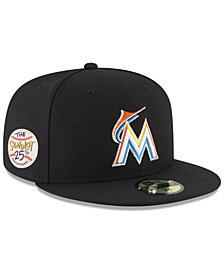 New Era Miami Marlins Sandlot Patch 59Fifty Fitted Cap