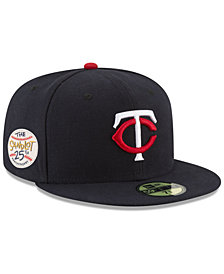 New Era Minnesota Twins Sandlot Patch 59Fifty Fitted Cap