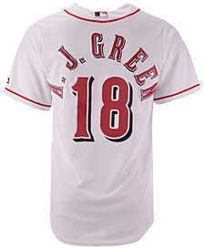 Majestic Men's A.J. Green Cincinnati Reds NFLPA Replica Cool Base Jersey