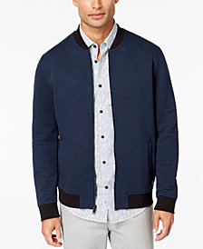 Alfani Men's Textured Bomber Jacket, Created for Macy's