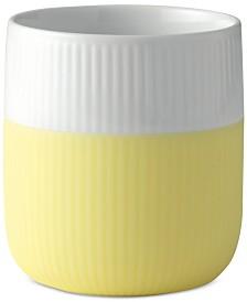 Royal Copenhagen Lemonade Fluted Contrast Mug