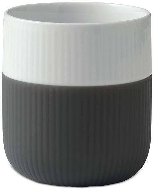 Royal Copenhagen Anthracite Fluted Contrast Mug