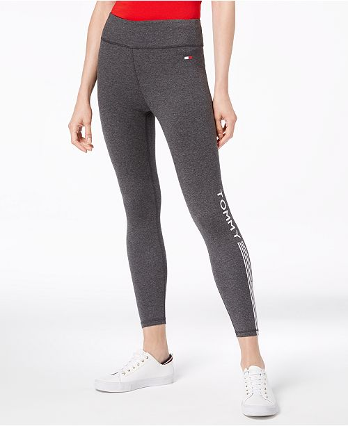 8190fa6c Tommy Hilfiger Logo-Print Leggings & Reviews - Pants & Capris ...