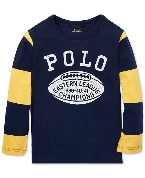 Polo Ralph Lauren. Toddler Boys Cotton Jersey Graphic T-Shirt. Be the first  to Write a Review. main image ca15ba5cb