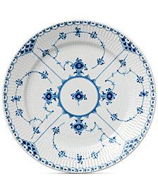 Royal Copenhagen Blue Fluted Half Lace Dinner Plate