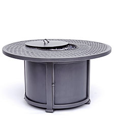 Vintage II Round Fire Pit with Top and Base, Created for Macy's