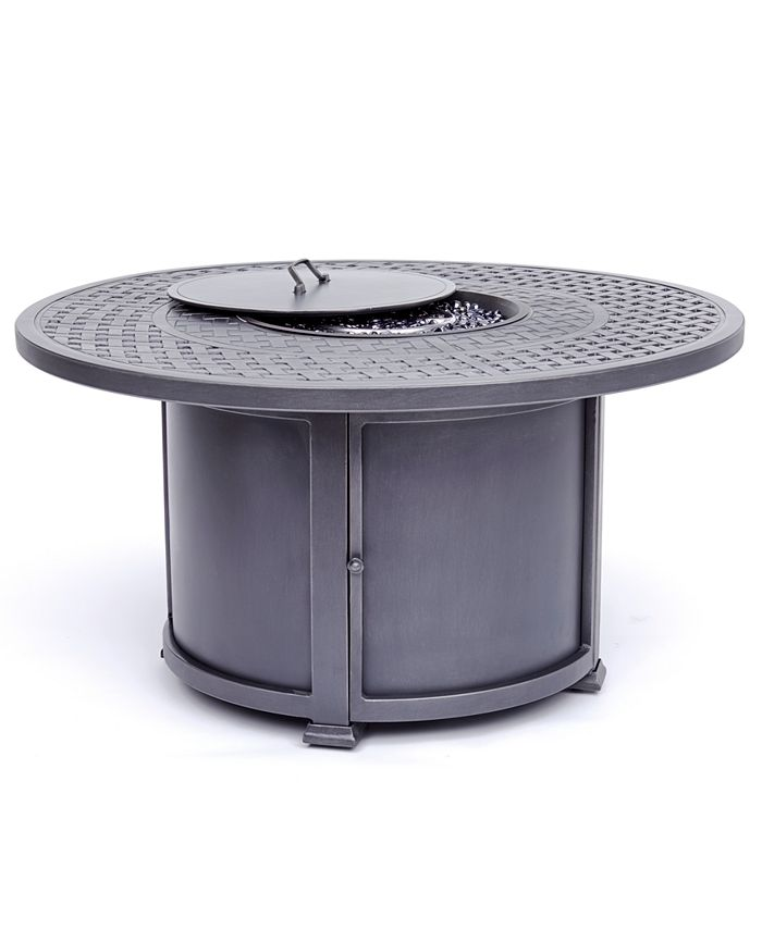 Furniture - Vintage II Round Fire Pit with Top and Base