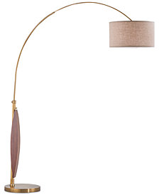Nova Lighting Clessidra Arc Floor Lamp
