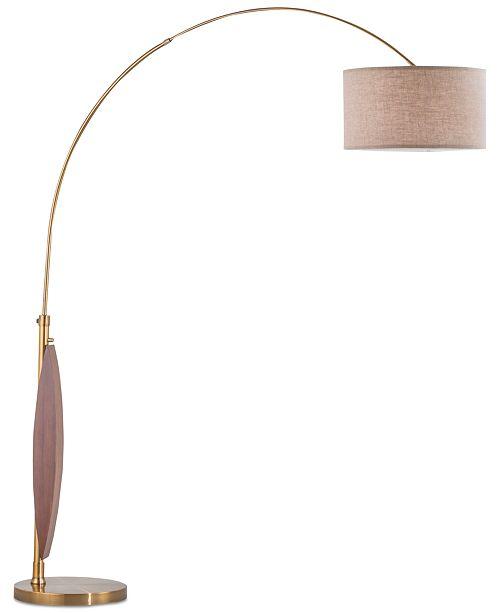Nova Lighting Clessidra Arc Floor Lamp