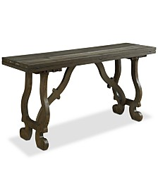 Orchard Park Fold-Out Console Table, Quick Ship