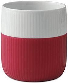 Royal Copenhagen Raspberry Fluted Contrast Mug
