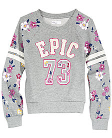 Epic Threads Big Girls Sweatshirt, Created for Macy's