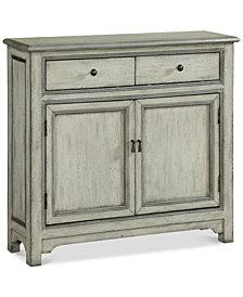 Elgin Two-Drawer Cabinet, Quick Ship