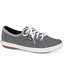Keds Women's Tour Chambray Lace-Up Fashion Sneakers