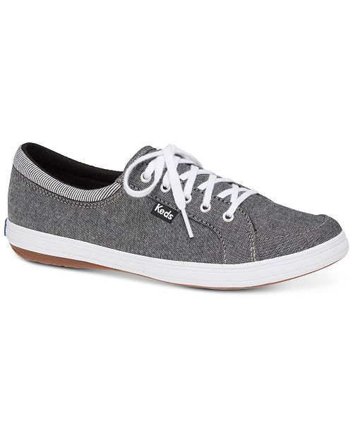 2aafc11d623 Keds Women s Tour Chambray Lace-Up Fashion Sneakers   Reviews ...