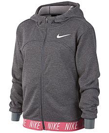 Nike Big Girls Zip-Up Training Hoodie
