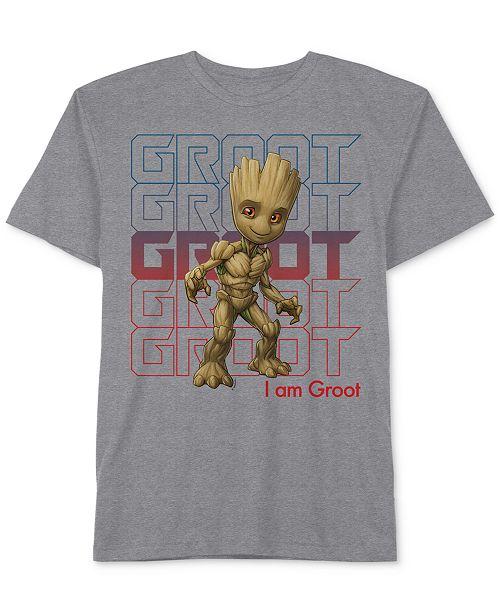 fbc21938c4 Marvel Little Boys Groot Graphic-Print T-Shirt   Reviews - Shirts ...