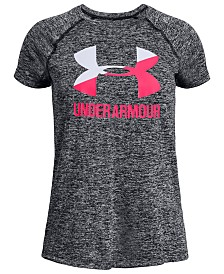 Under Armour Big Girls Logo T-shirt