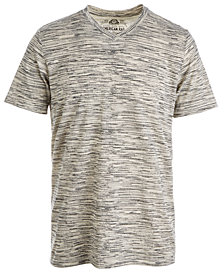 American Rag Men's Digi-Texture V-Neck T-Shirt, Created for Macy's