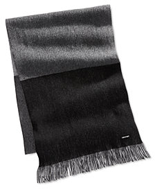 Hugo Boss Men's Colorblocked Scarf