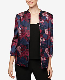 Alex Evenings Printed Jacket & Shell, Regular & Petite