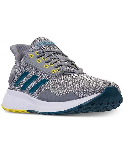 be1dd7ff83d56 adidas Men s Duramo 9 Knit Running Sneakers from Finish Line ...