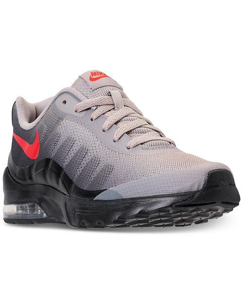 cheaper 200f0 58853 ... Nike Men s Air Max Invigor Print Running Sneakers from Finish ...