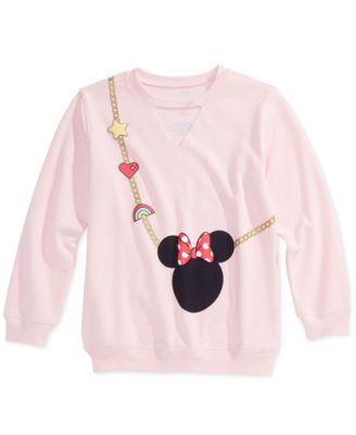 Big Girls Minnie Mouse Sweatshirt