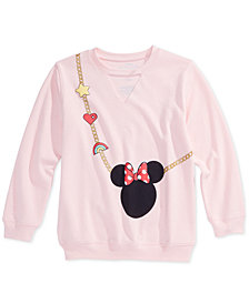 Disney Big Girls Minnie Mouse Sweatshirt